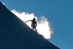 29.12.2017, Stelvio, Bormio, ITA, FIS Weltcup, Ski Alpin, alpine Kombination, Abfahrt, Herren, im Bild Ryan Cochran-Siegle (USA) // Ryan Cochran-Siegle of the USA in action during the downhill competition for the men's Alpine combination of FIS Ski Alpine World Cup at the Stelvio course, Bormio, Italy on 2017/12/29. EXPA Pictures © 2017, PhotoCredit: EXPA/ Johann Groder