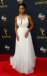 September 18, 2016 - Los Angeles, CA, USA - Anika Noni Rose arrives at the 68th Annual Emmy Awards at the Microsoft Theater in Los Angeles, California on Sunday, September 18, 2016. (Credit Image: © Wkb/Los Angeles Daily News via ZUMA Wire)