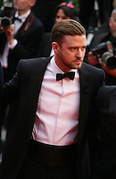 Actor and singer Justin Timberlake at the The Coen brother's new film 'Inside Llewyn Davis' red carpet gala screening at the Cannes Film Festival Sunday 19th May 2013