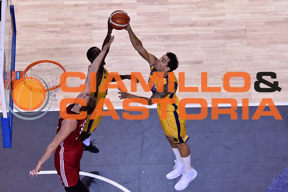 Delfino Carlos<br /> FIAT Torino - Alma Pallacanestro Trieste<br /> Lega Basket Serie A 2018-2019<br /> Torino 13/10/2018<br /> Foto M.Matta/Ciamillo & Castoria