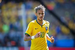 Lance da partida entre Brasil x Chile, válida pelas oitavas de final da Copa do Mundo 2014, no Estádio Mineirão, em Belo Horizonte. FOTO: Jefferson Bernardes/ Vipcomm