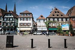 Place de Marché, Obernai, Alsace, France<br /> <br /> (c) Andrew Wilson   Edinburgh Elite media