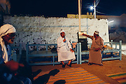Ma'azoon speaking to the guests in Seheil Island