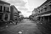 Main Street Square at Six Flags in East New Orleans - five years later after Hurricane Katrina.
