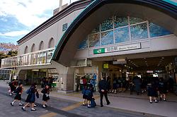A estação de metrô Mejiro Station, no bairro Shinjuku, em Tókio. FOTO: Jefferson Bernardes/Preview.com