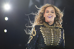 June 30, 2017 - Italia - The singer Beyoncé (Beyoncé Giselle Knowles-Carter) in concert at San Siro Stadium for a date of her The Formation World Tour. Milan, Italy. 18th July 2016 (Credit Image: © Marco Piraccini/Mondadori Portfolio via ZUMA Press)