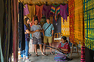 The final products are either sold in their local store mainly to tourists who visit this town every single day, or collected by MayaWorks for distirbution around the world.