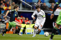 04.12.2012 SPAIN -  Champions League 12/13 Matchday 6th  match played between Real Madrid CF vs AFC Ajax (4-1) at Santiago Bernabeu stadium. The picture show  Ricardo Izecson Kaka (Brazilian midfielder of Real Madrid)