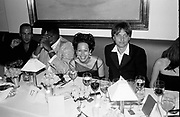 Tom Ford, Andre Leon Talley,Lady Amanda Harlech and James  Truman at the Vanity Fair Oscar Night Party. Mortons. Los Angeles.  24 March 1997<br />Copyright Photograph by Dafydd Jones<br />66 Stockwell Park Rd. London SW9 0DA<br />Tel 0171 733 0108