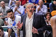 DESCRIZIONE : Campionato 2014/15 Dinamo Banco di Sardegna Sassari - Openjobmetis Varese<br /> GIOCATORE : Romeo Sacchetti<br /> CATEGORIA : Allenatore Coach Curiosità<br /> SQUADRA : Dinamo Banco di Sardegna Sassari<br /> EVENTO : LegaBasket Serie A Beko 2014/2015<br /> GARA : Dinamo Banco di Sardegna Sassari - Openjobmetis Varese<br /> DATA : 19/04/2015<br /> SPORT : Pallacanestro <br /> AUTORE : Agenzia Ciamillo-Castoria/L.Canu<br /> Predefinita :