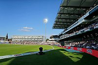 Cricket - 2021 Season - The Hundred: Men - Northern Superchargers vs Manchester Originals - Emerald Headingley, Leeds - Thursday 12th August 2021<br /> <br /> A general view of Emerald Headingley during the men's match as a sell out crowd saw the Northern Superchargers win by 69 runs.<br /> <br /> COLORSPORT/ALAN MARTIN