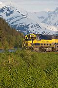 Trip of a lifetime aboard the Alaska Railroad train with Turnagain Arm and the Chugach Mountains