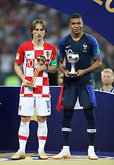 World Cup Final Awards - 15 July 2018