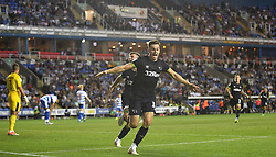 Derby County's Tom Lawrence scores the winning goal