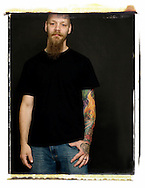 Tattoo artist Toby Gerlich. (Will Shilling/Alive)
