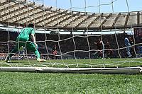 il gol di Dusan Basta Lazio. Goal celebration.<br /> Roma 30-04-2017  Stadio Olimpico<br /> Campionato Serie A, <br /> AS Roma - Lazio<br /> Foto Antonietta Baldassarre / Insidefoto