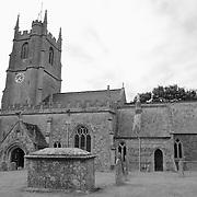 St. James Church - Avebury, UK - Black & White