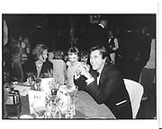 Philip Treacy, Karen Elson and Bryan Ferry. Centenary Gala dinner. Tate Gallery. London. 1 July 1997. © Copyright Photograph by Dafydd Jones 66 Stockwell Park Rd. London SW9 0DA Tel 020 7733 0108 www.dafjones.com