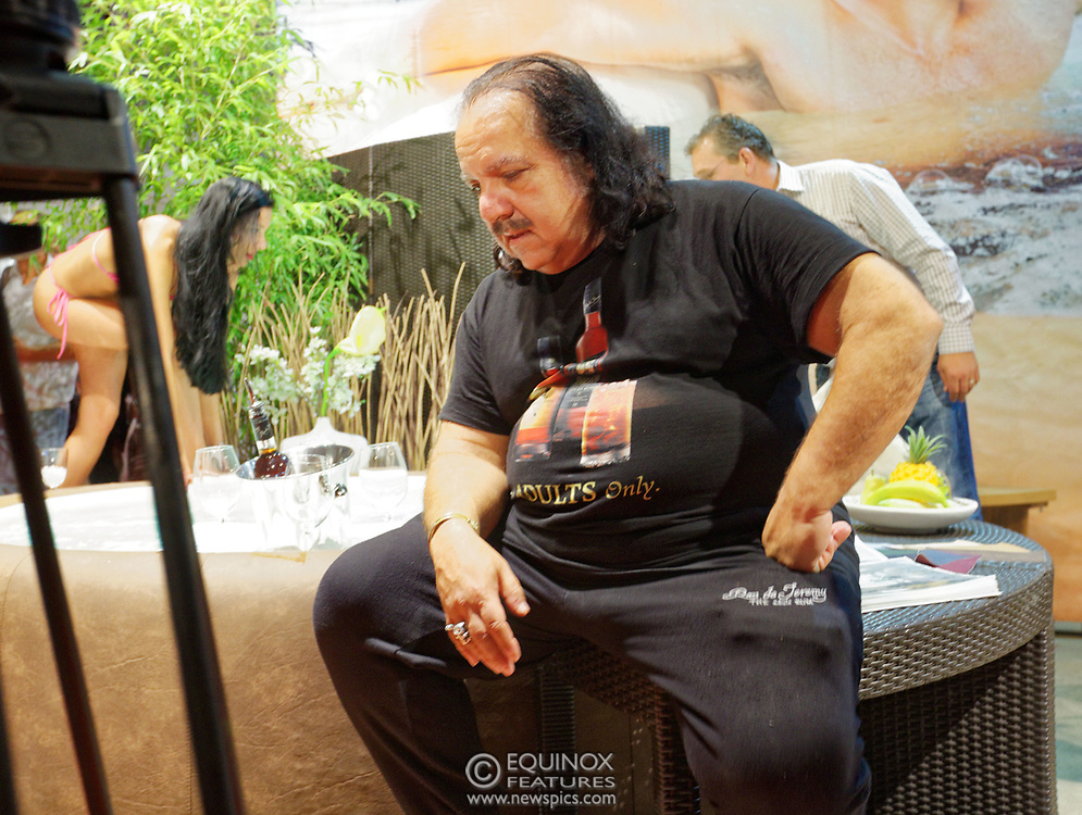 Berlin, Germany - 18 October 2012<br /> Porn star Ron Jeremy promoting his 'Ron Jeremy' brand of rum at the Venus Berlin 2012 adult industry exhibition in Berlin, Germany. Ron Jeremy, born Ronald Jeremy Hyatt, has been an American pornographic actor since 1979. He faces sexual assault allegations which he strenuously denies. There is no suggestion that any of the people in these pictures have made any such allegations.<br /> www.newspics.com/#!/contact<br /> (photo by: EQUINOXFEATURES.COM)<br /> Picture Data:<br /> Photographer: Equinox Features<br /> Copyright: ©2012 Equinox Licensing Ltd. +448700 780000<br /> Contact: Equinox Features<br /> Date Taken: 20121018<br /> Time Taken: 12044310