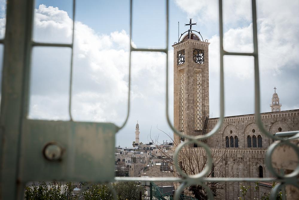 1 March 2020, Bethlehem: View of churches in Bethlehem.