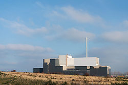 View of  new waste to energy plant which is currently under construction in Millerhill, Midlothian outside Edinburgh, Scotland, UK