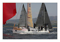 Bell Lawrie Scottish Series 2008. Fine North Easterly winds brought perfect racing conditions in this years event..GBR66R Sail4Cancer Class 2