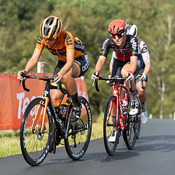 22-08-2020: Wielrennen: NK vrouwen: Drijber<br /> Kristie van Haaften, Danique Braam (Netherlands / Team Lotto Soudal Ladies)