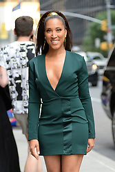 June 18, 2018 - New York, NY, USA - June 18, 2018 New York City..Robin Thede arriving to tape an appearance on 'The Late Show with Stephen Colbert' on June 18, 2018 in New York City. (Credit Image: © Kristin Callahan/Ace Pictures via ZUMA Press)