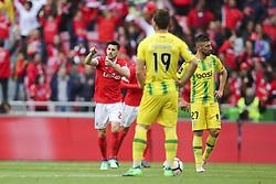 April 30, 2018 - Na - Lisboa, 04/28/2018 - Sport Lisboa Benfica received this afternoon at Estádio da Luz Tondela in the 32nd Match of the first Liga NOS. Epoca 2017 / 2018. Pizzi scores Benfica goal  (Credit Image: © Atlantico Press via ZUMA Wire)