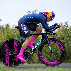 24-09-2020: wielrennen: WK tijdrit vrouwen: Imola<br /> Chloe Dygert Owen (USA)