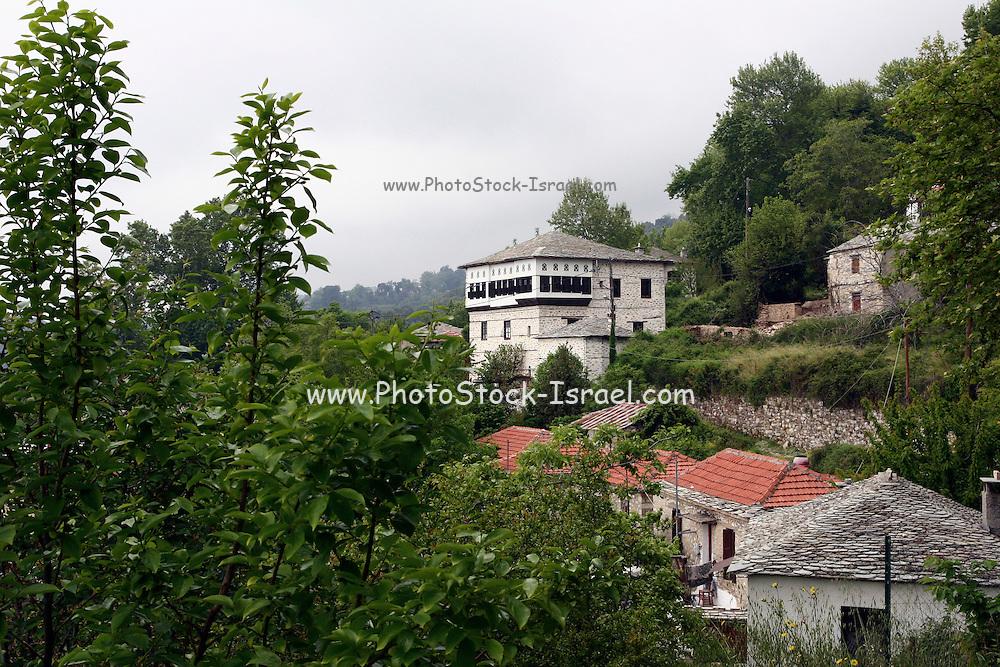 Greece, Thessaly, Makrinitsa on the slopes of mount Pelion