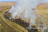 63863-02920 Prescribed Burn by IDNR Prairie Ridge State Natural Area Marion Co. IL