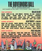 September 25, 2021 - NY: The Governors Ball 10th Anniversary