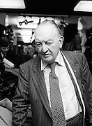 Mr. Louis Copelad (Snr), the renowned tailor and men's outfitter, pictured at his Dublin store on Capel Street. 19/10/1979
