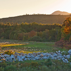 New Hampshire's White Mountains.  Albany, New Hampshire. Fall.