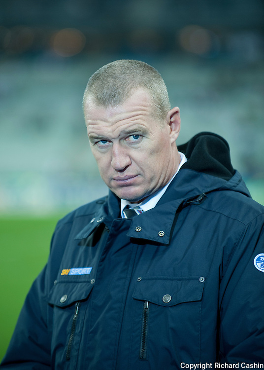 Sky Sport commentator, John Kirwan at the 2007 Rugby World Cup Final in Paris
