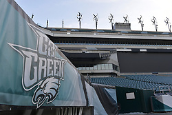 Go Green at Lincoln Financial Field on January 3, 2018 in Philadelphia, Pennsylvania. (Photo by Drew Hallowell/Philadelphia Eagles)