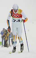 OL 2006 Langrenn menn 15km,<br />Pragelato Plan<br />17.02.06 <br />Foto: Sigbjørn Hofsmo, Digitalsport <br /><br />Johan Olsson SWE Sverige