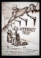 NEW YORK  2020V10<br /> Immigrationen upplevedes som ett stort problem i början av 1900-talet. Röster höjdes för läs- och skrivtester innan immigranter släpptes in i landet.<br /> <br /> Foto: Per Danielsson/Projekt.P