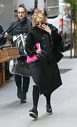 October 26, 2016 - New York, New York, United States - Actor Helena Bonham Carter on the set of the new movie 'Ocean's Eight' on October 26 2016 in New York City  (Credit Image: © Zelig Shaul/Ace Pictures via ZUMA Press)