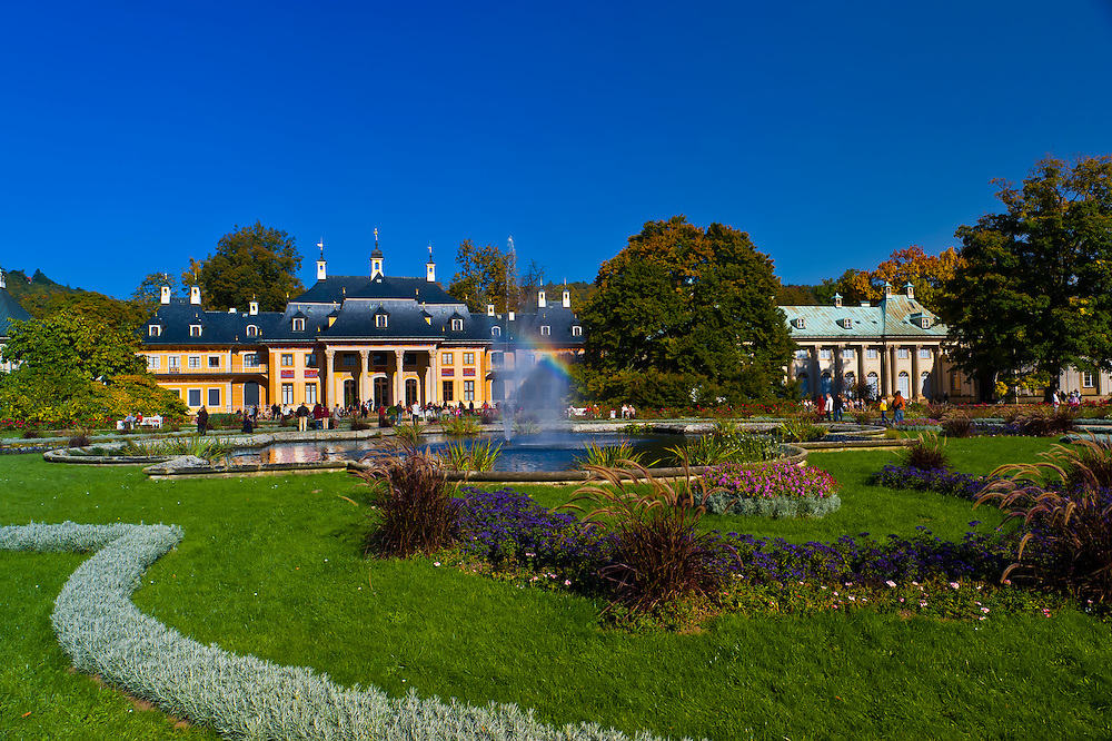 Hillside Palace (Bergpalais), Pillnitz Castle, Pillnitz, Saxony, Germany