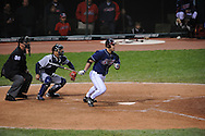 The Seattle Mariners defeated the Cleveland Indians 7-2 on April 29, 2008 at Progressive Field in Cleveland..Travis Hafner of Cleveland.