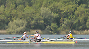 Banyoles, SPAIN,  GBR W1X,  Kath GRAINGER  Gold Medalist, women's single sculls, closing stages of the final, at the FISA World Cup Rd 1. Lake Banyoles.  Sunday,  31/05/2009   [Mandatory Credit. Peter Spurrier/Intersport Images]