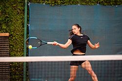 Noka Jurič during final of Državno prvenstvo v tenisu Ptuj, on May 30th, 2019 in Radenci, Slovenia. Photo by Blaž Weindorfer / Sportida