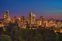 Seattle Skyline from Volunteer Park