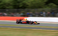 Red Bull Racing's Max Verstappen during third practice of the 2017 British Grand Prix at Silverstone Circuit, Towcester.
