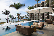 One of the five infinity pools at the Andaz hotel in Wailea, Maui, Hawaii