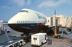 Front Of Boing British Airways Airplane
