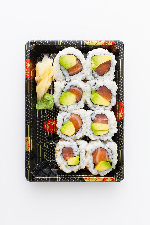 Alaska Salmon Sushi Roll from Ennju ($7.35)