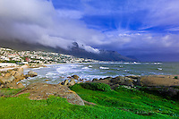 Glen Beach, Camp's Bay (near Cape Town), South Africa